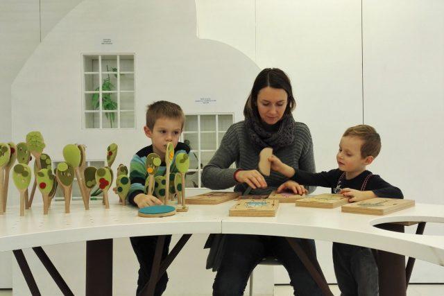 Ivana s deťmi