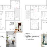 Návrh prestavby bytu v Španielsku