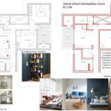 Architektonický návrh prestavby bytu