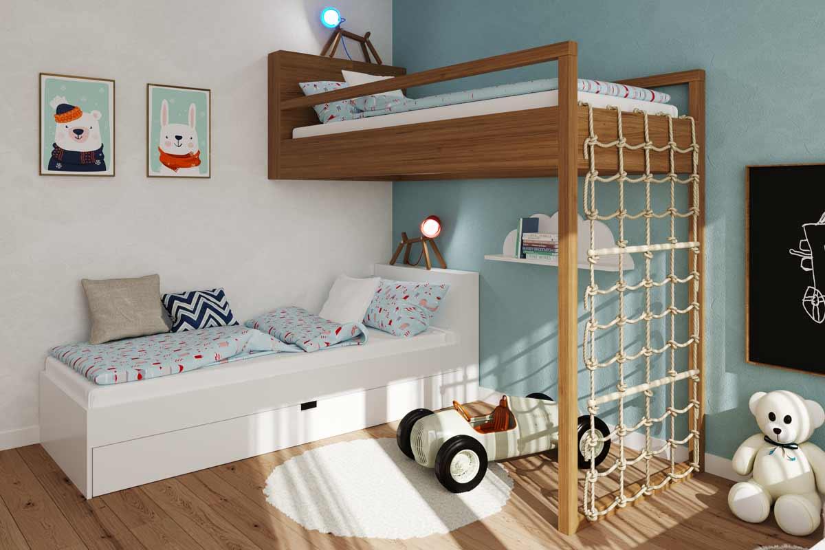 Architektonické poradenstvo LARGE - interiér detskej izby